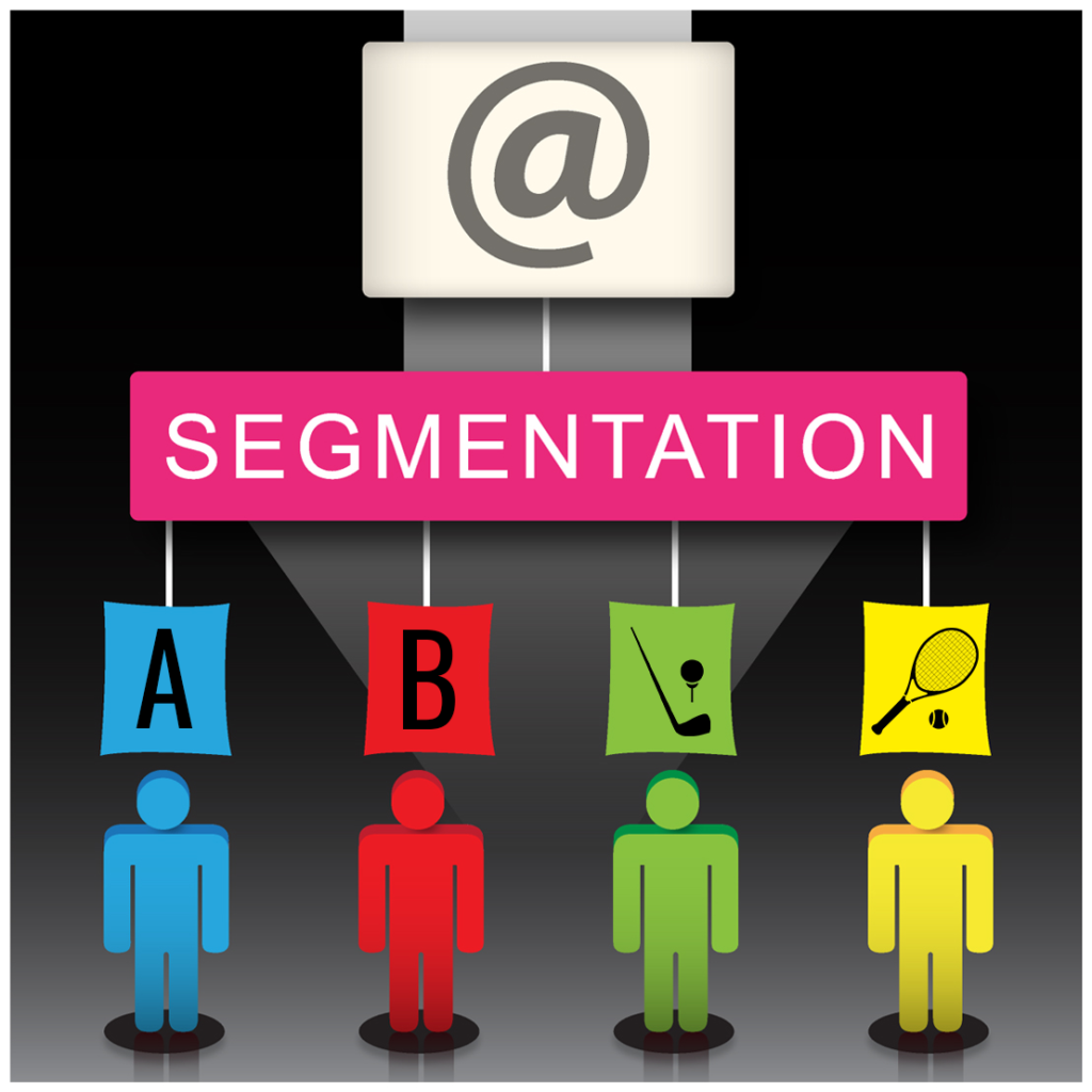 golf course email marketing tips segmentation