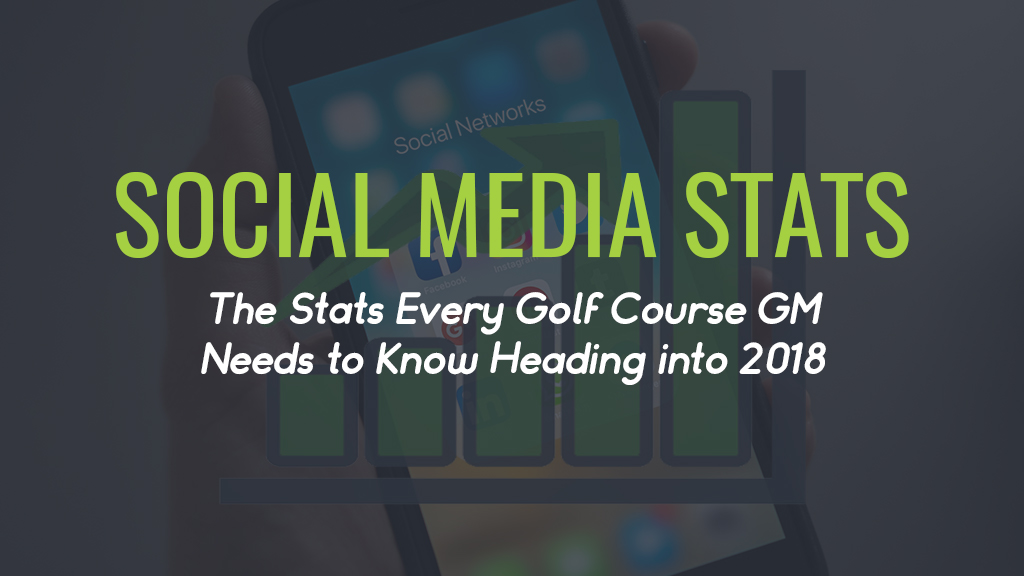 Social Media Stats for Golf Courses