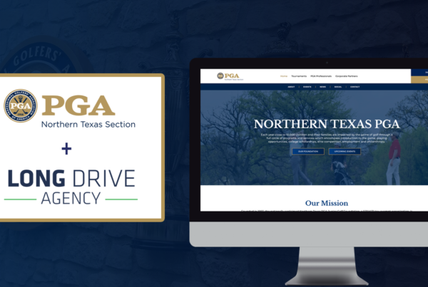 Long Drive Agency Partnership With Northern Texas PGA